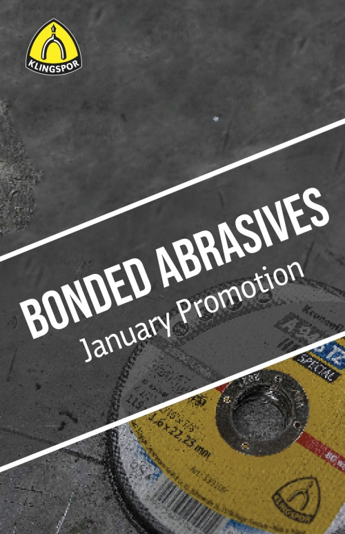 Bonded Abrasives Offers January Promotion