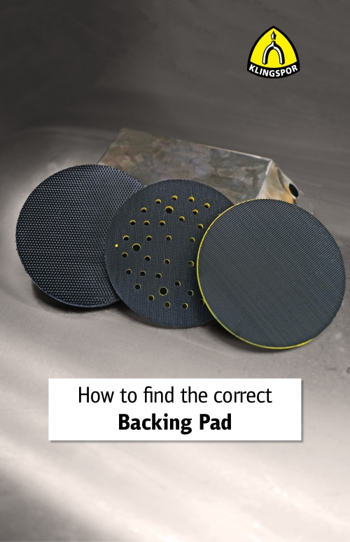 How to Find the Correct Backing Pad